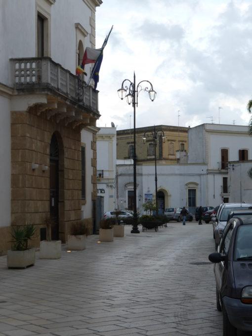 Carmiano (LE). Il nuovo impianto di illuminazione ha riguardato anche il centro storico