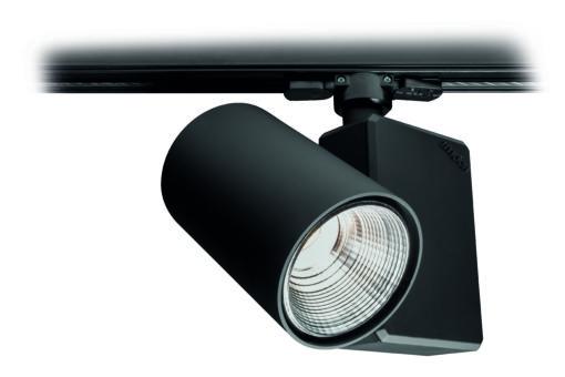 """Dettaglio del proiettore a luce LED """"Kronos P"""", molto compato e ideale per l'illuminazione d'accento (courtesy: Imoon)"""