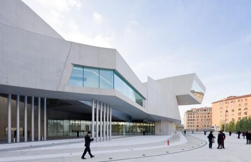 Roma, il nuovo edificio del MAXXI, Museo Nazionale delle Arti del XXI secolo (photo: Iwan Baan)
