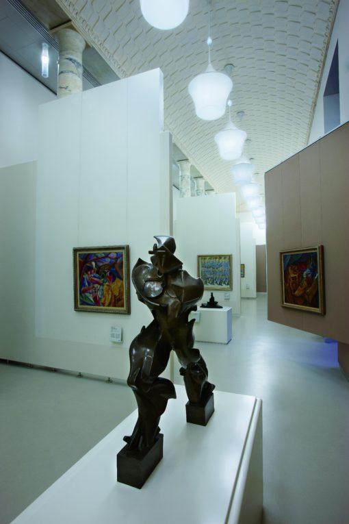 Milano, Museo del Novecento (cortesia: Studio Italo Rota)
