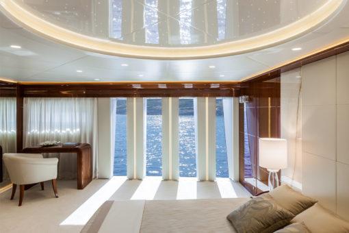 Un ambiente dello yacht Ketos 48 m (courtesy photo: Team For Design