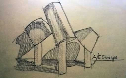 """Uno studio della micro-serie """"Ada Lamp"""" (courtesy: A/E Design)"""