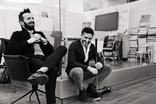 Gli architetti Andrea Miscoli e Matteo Antonelli (courtesy: MAMA Design Lighting Architecture)