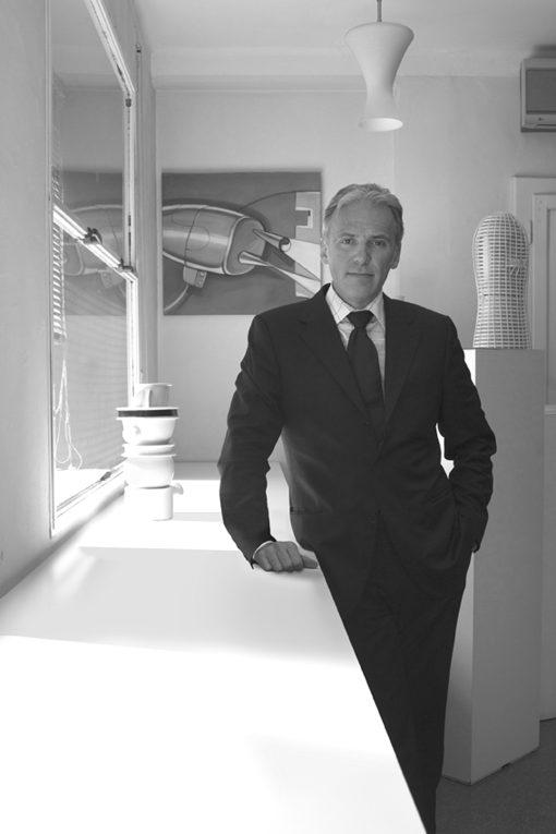 L'architetto e designer Massimo Iosa Ghini (fotografo:Enrico Basili per Dogma)