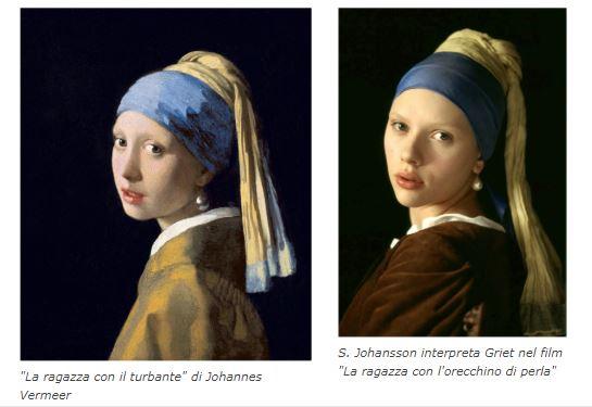 La ragazza con l orecchino di perlau d ovvero dipingere con la luce