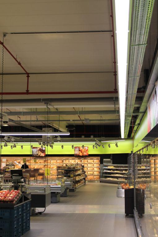 del punto vendita Carrefour (courtesy photo: 3F Filippi)