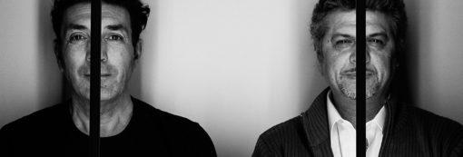 """I designer dell'apparecchio """"M'Attacco"""", Davide Danesi e Leonardo Buzzoni, di DaBù. LIGHThinks (courtesy photo: Studio Lux))"""
