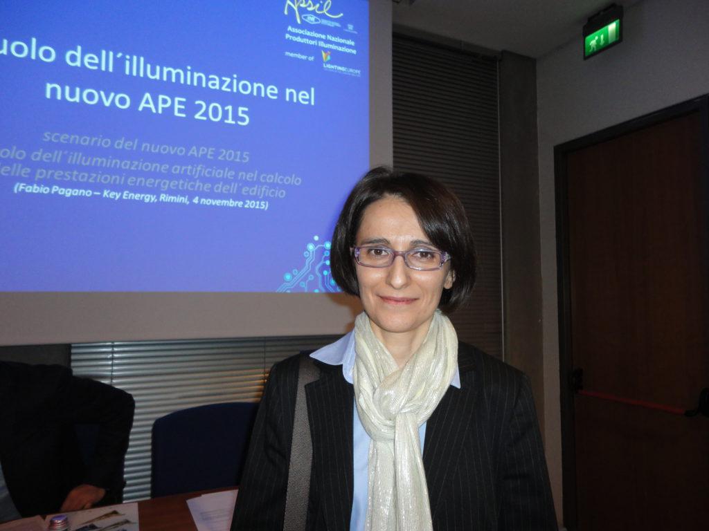 Laura Blaso, ricercatore ENEA (cortesia: ASSIL)