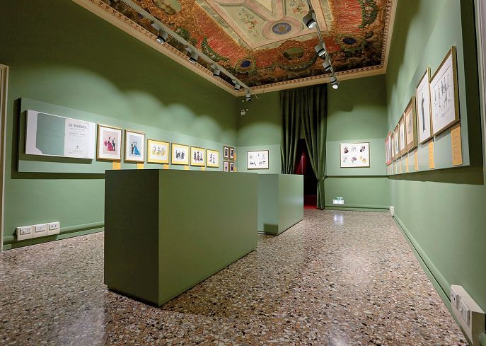 Una scena per il museo luce e design