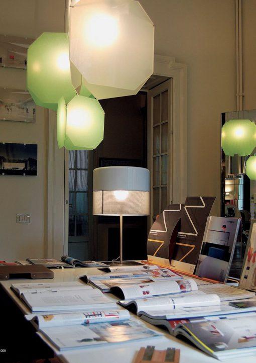 Un'immagine dello studio (foto: Paolo Bernardi)
