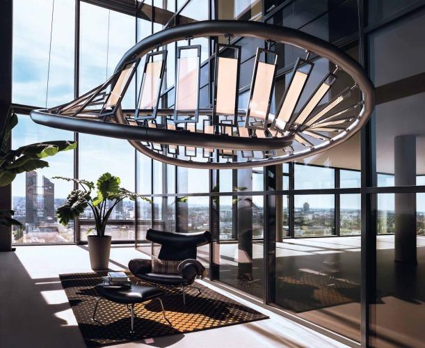Gli oled e i nuovi materiali per la luce luce e design