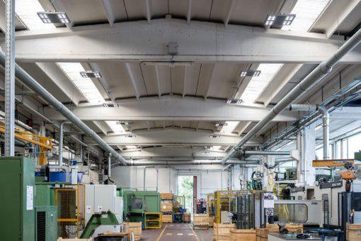 LVF Valves. I nuovi sistemi di illuminazione installati a luce LED Smart[4] (courtesy: Gewiss)