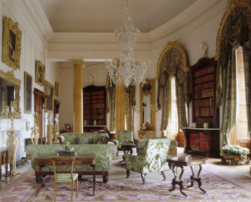 """The Library"", Ichworth House (courtesy photo: NTPL/Andreas von Einsiedel)"