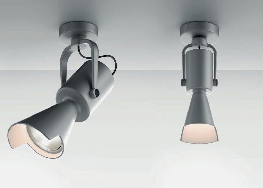 """Proiettori """"Tycho"""" e """"Tycho Micro"""" (design: Michele De Lucchi) (courtesy photo: Artemide)"""