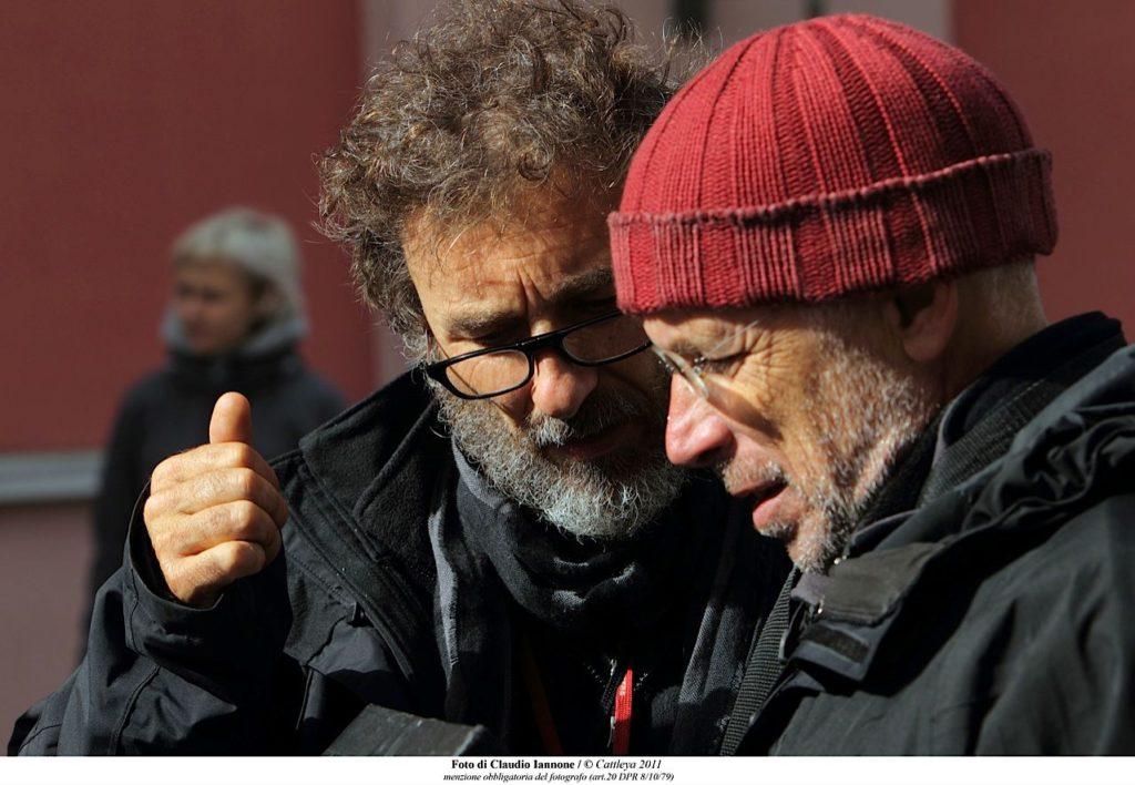 Il Direttore della Fotografia Italo Petriccione con il regista Gabriele Salvatores