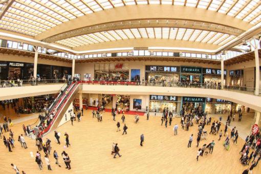 Il centro commerciale di Arese