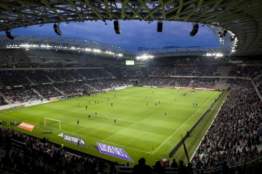 """Nizza - """"Allianz Rivera Stadium"""" (courtesy: Allianz Riviera, Nice - OGC Nice www.ogcnice.com – Foto: © Serge Demailly)"""