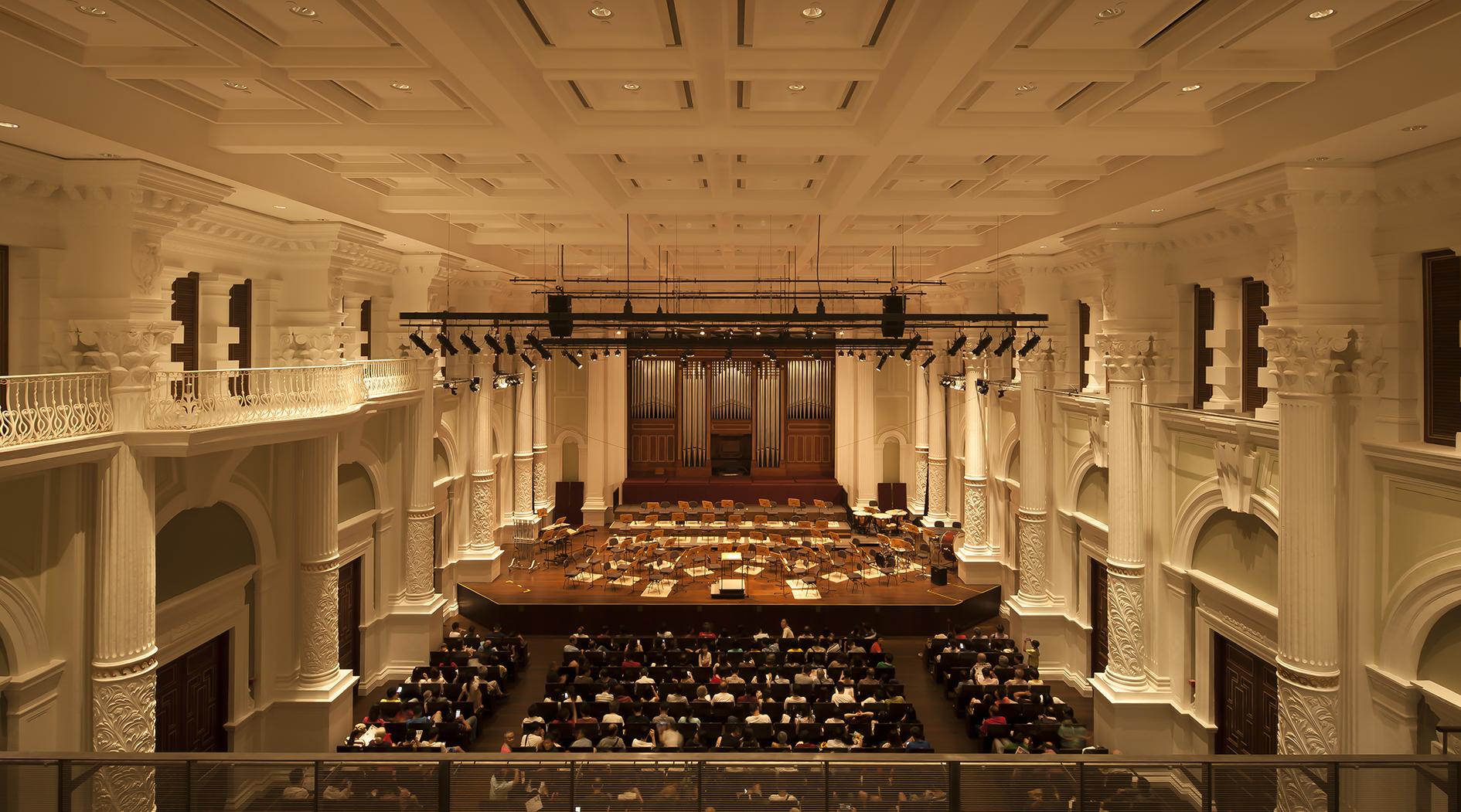 Victoria Concert Hall. La sala (courtesy photo: .PSLAB)