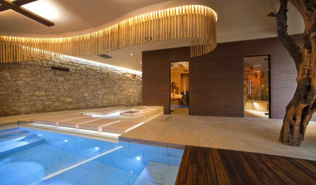Dhara, Ayurvedica SPA, presso Park Hotel Belfiore, Brenzone, Verona (2010) (cortesia: Alberto Apostoli Architecture & Design)