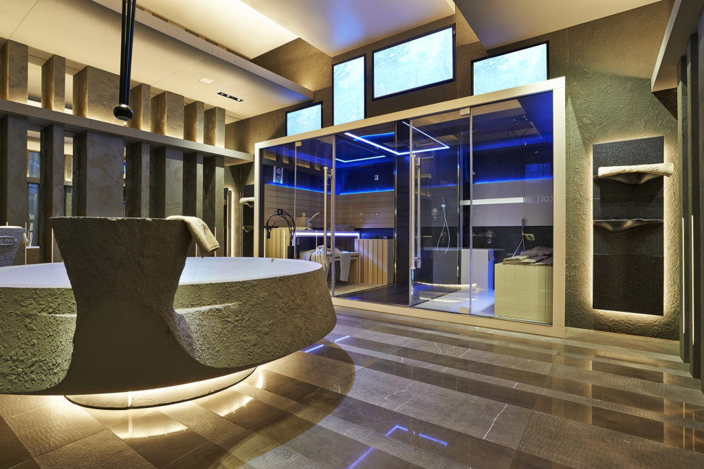 Suite SPA Just Pour Nous, Parigi (2014) (cortesia: Alberto Apostoli Architecture & Design)