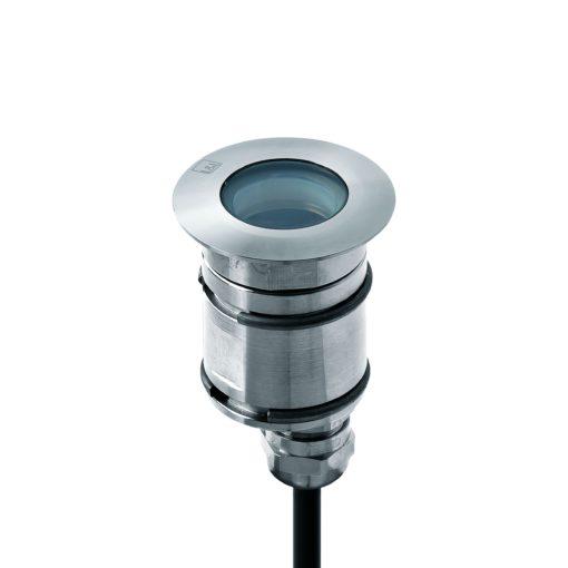 """L&L Luce & Light) (figura h) Uno degli incassi a LED utilizzati, serie """"Bright"""" 1."""
