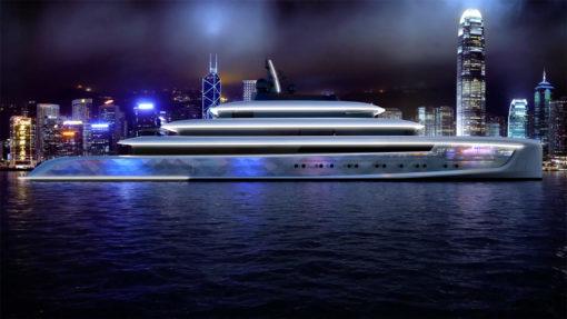 "Altra illagine del superyacht ""Moonstone"""
