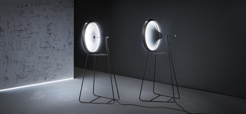 'Black Hole Lamp' di Dario Narvaez + Anthony Baxter (New York, NY, USA) (Photo credit: L A M P)