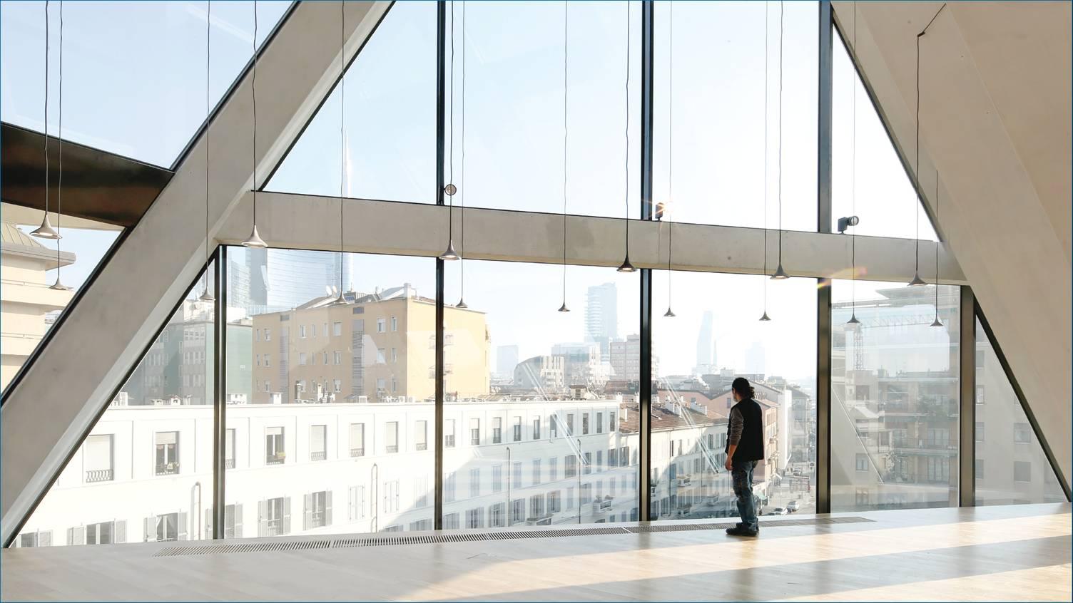 Milano. La nuova sede della Fondazione Giangiacomo Feltrinelli in Viale Pasubio (foto: Filippo Romano)