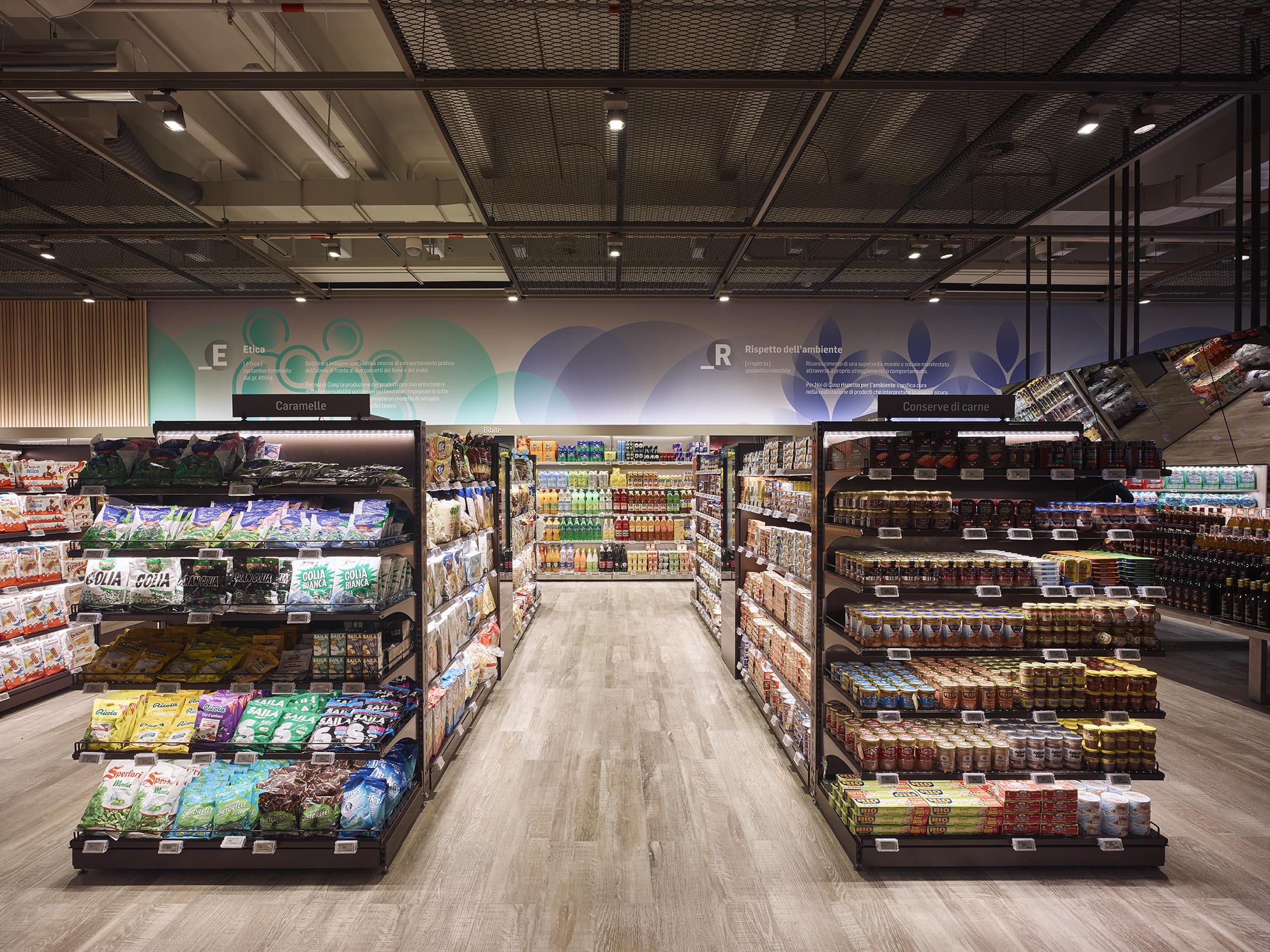 Imoon e coop a bicocca village per il supermercato interattivo
