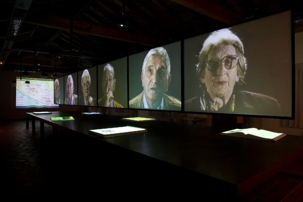 Il Museo della Resistenza di Fosdinovo in Lunigiana (courtesy: Studio Azzurro)