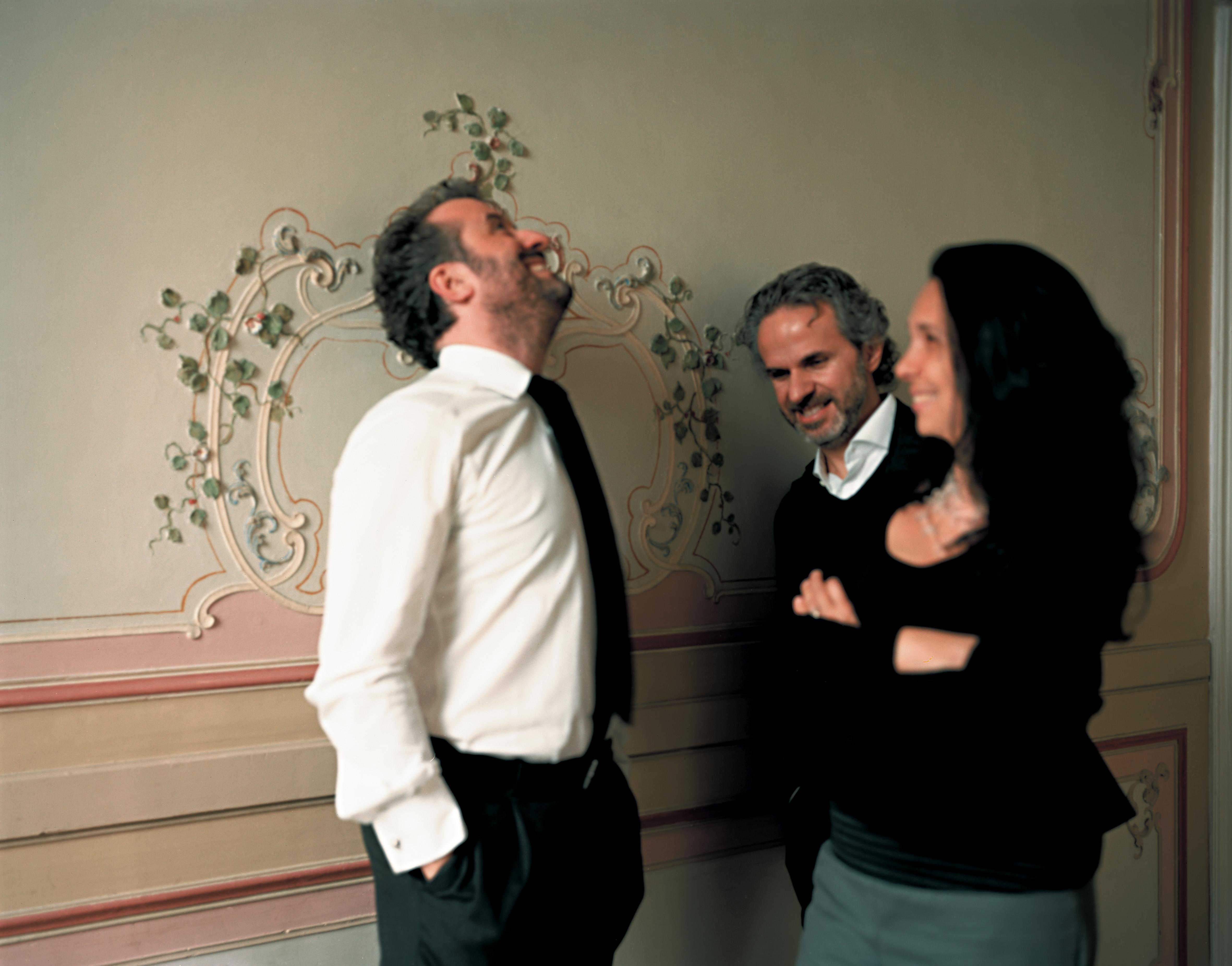 5+1AA. Gli architetti Gianluca Peluffo, Alfonso Femia, Simonetta Cenci (courtesy photo: ©Ernesta Caviola)