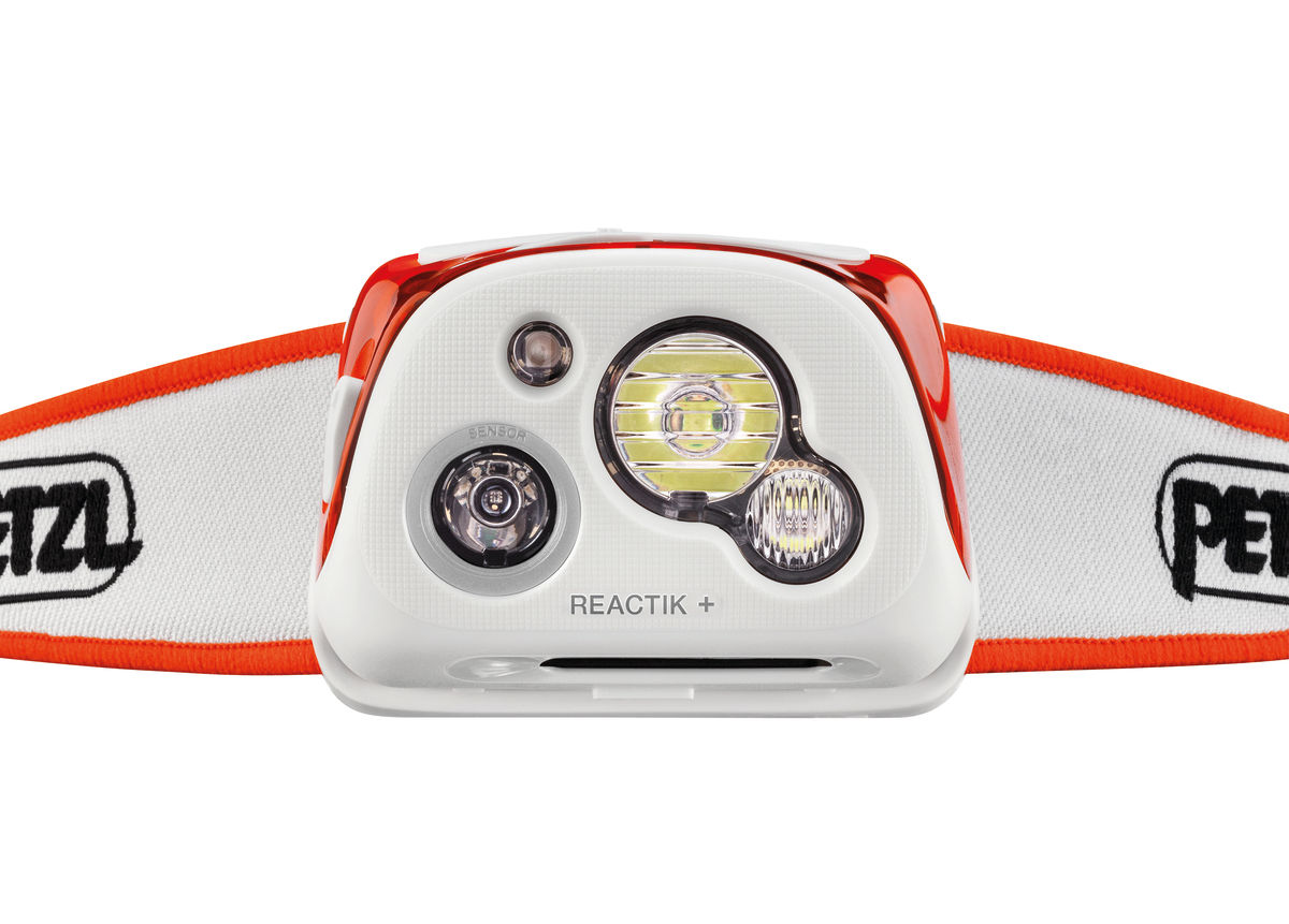 La lampada Reactik Plus (cortesia photo: Petzl)