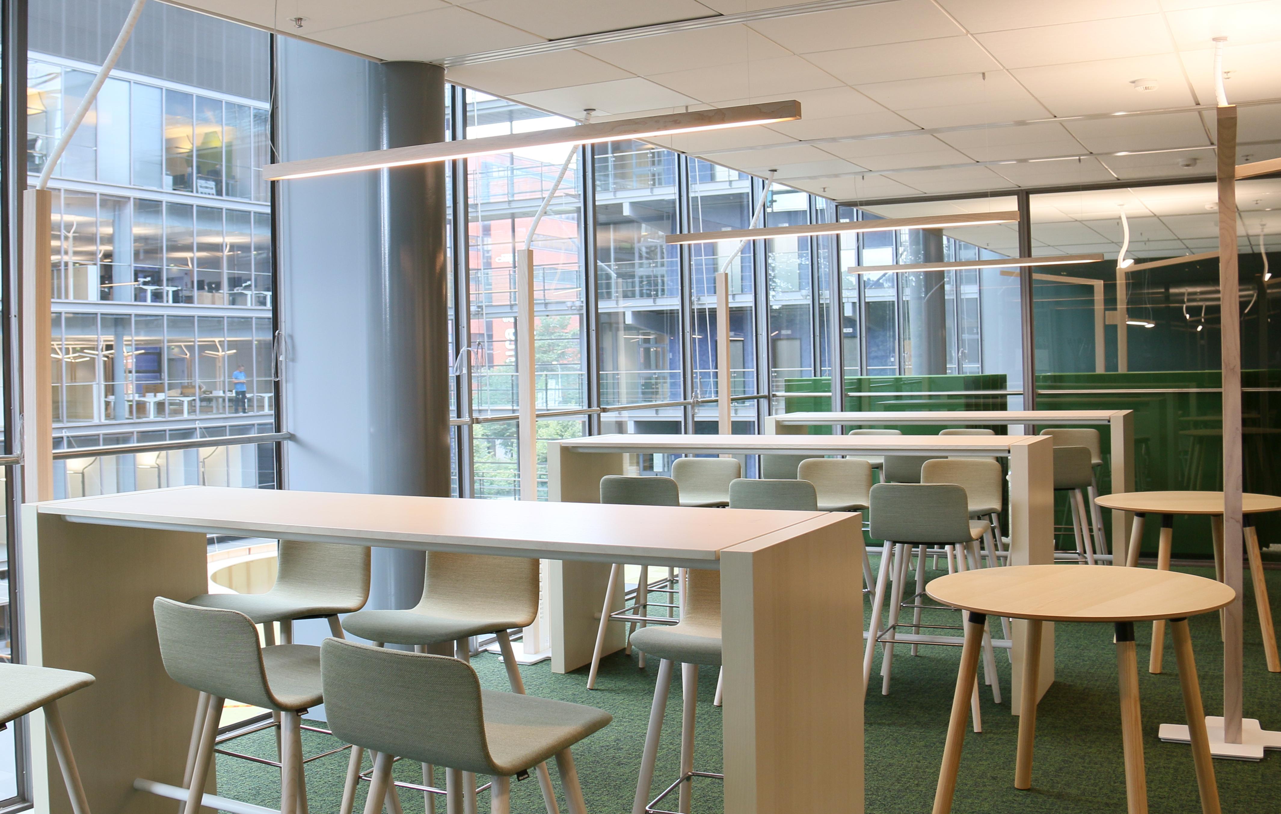 Illuminazione Ideale Per Ufficio : Design e controllo intelligente della luce in ufficio luce e design