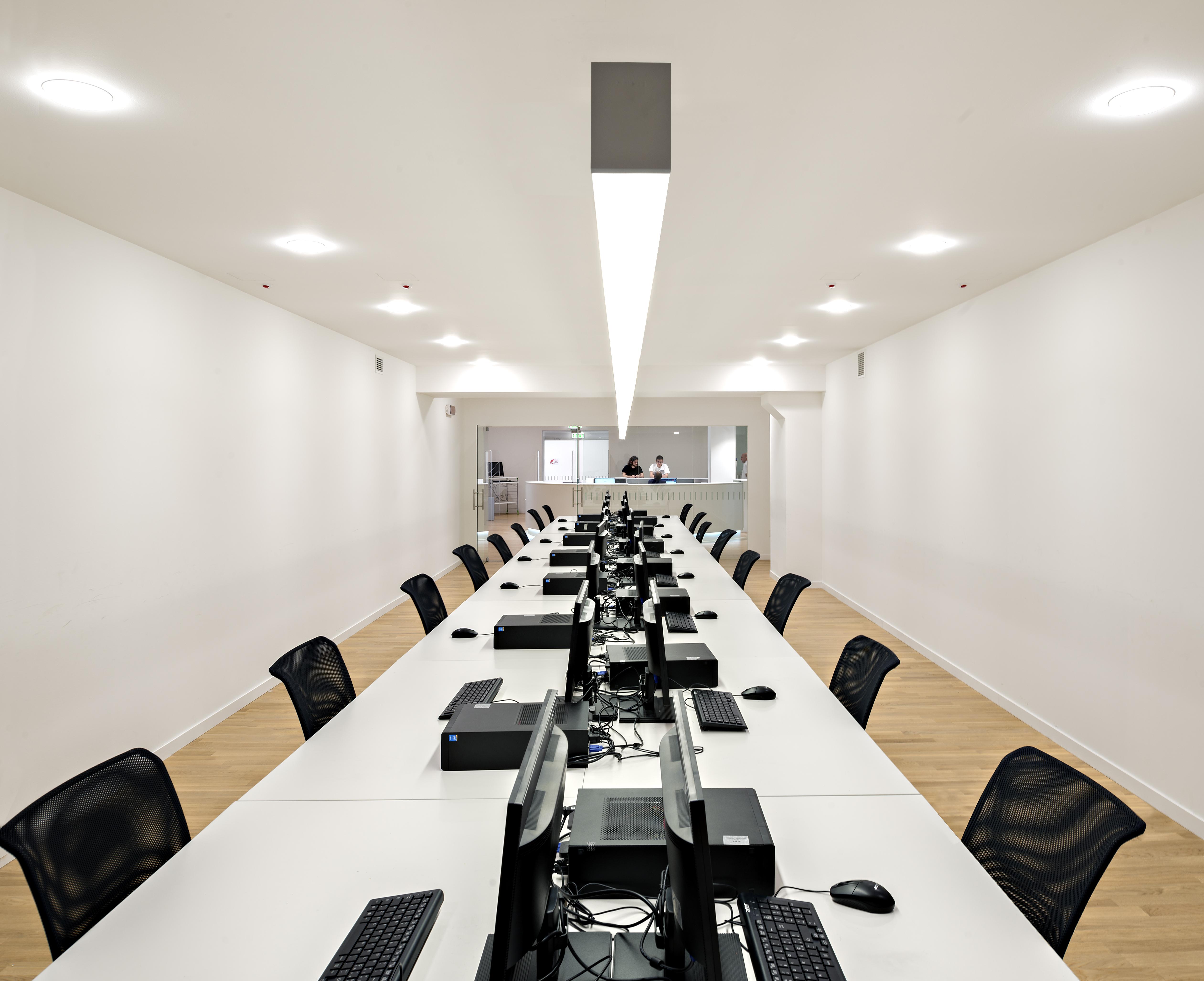 Luce diffusa per la riconfigurazione dello spazio luce e design