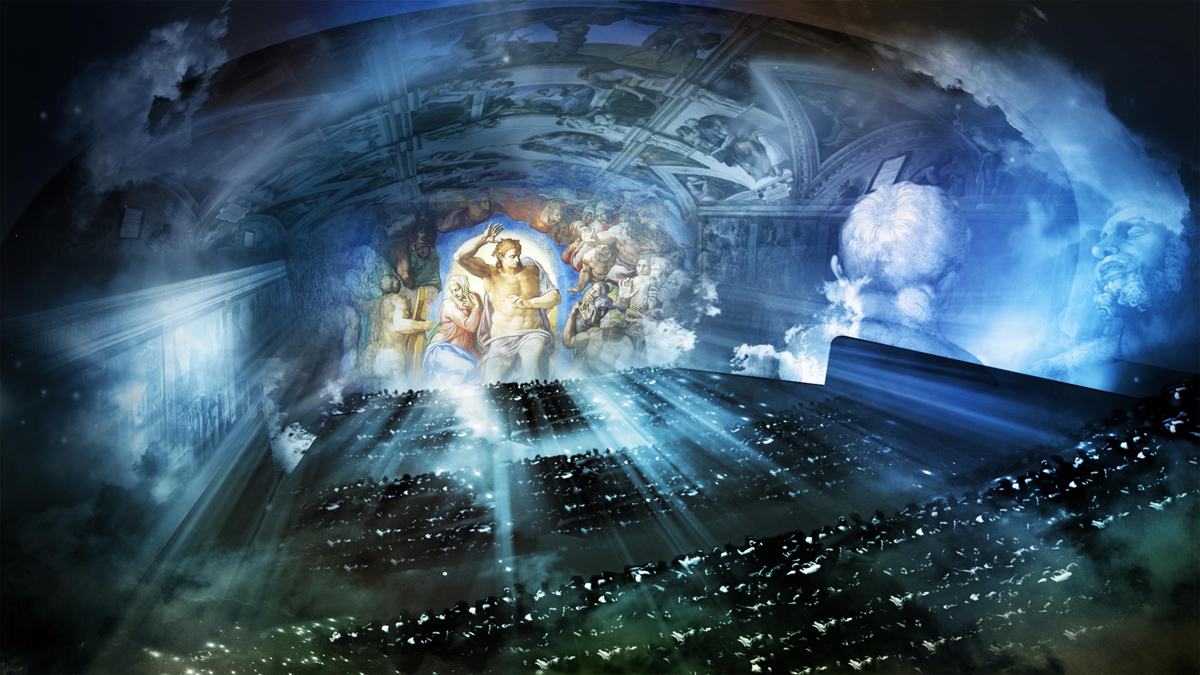 Giudizio Universale'. Un live show per Michelangelo - Luce e Design