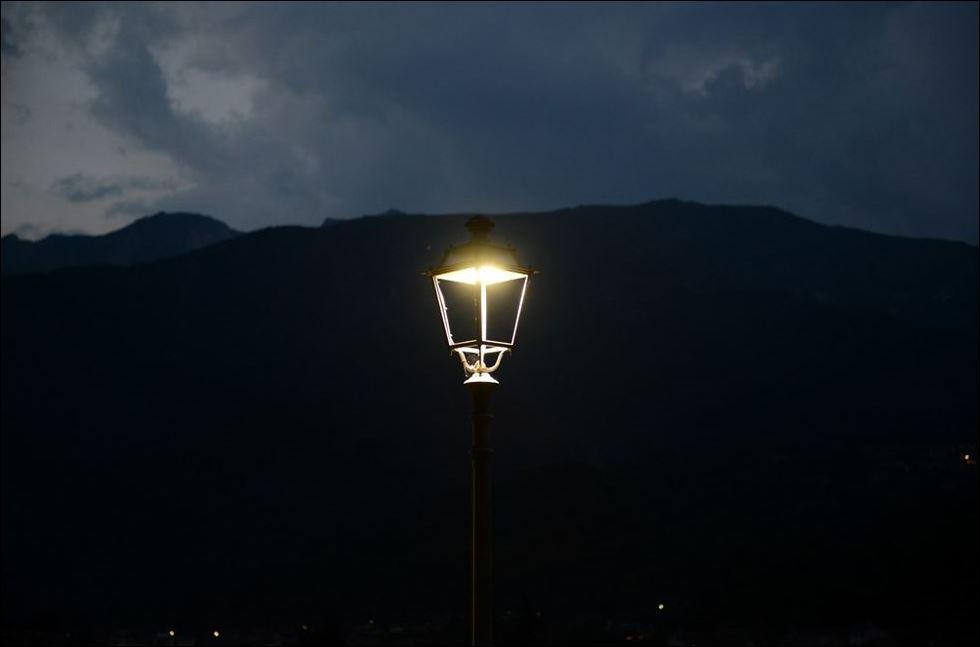A cesena la luce pubblica led è on demand luce e design