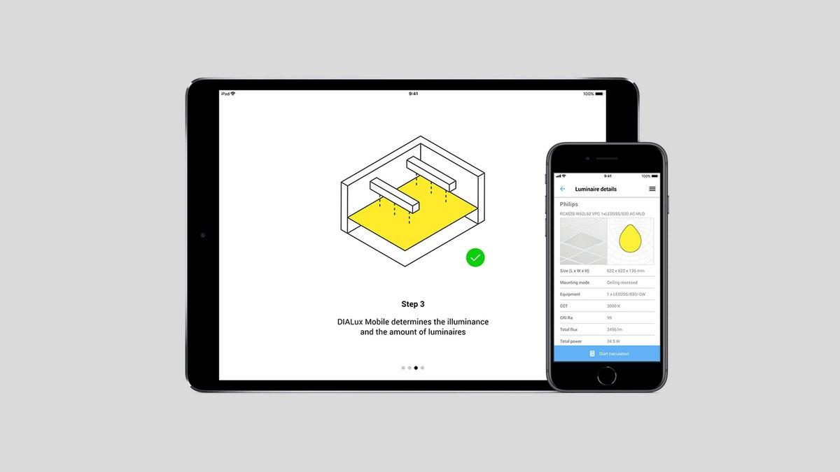 Una app per progettare la luce con tablet o smartphone for App per progettare